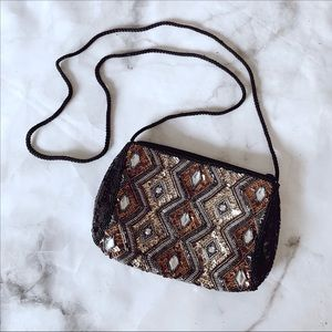 Handbags - Vintage Sequin Beaded Bag